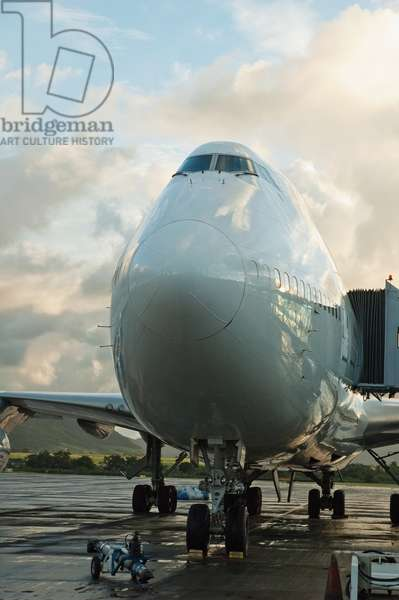 Air France Boeing 747-400 at Sir Seewoosagur Ramgoolam International Airport, Mauritius (photo)