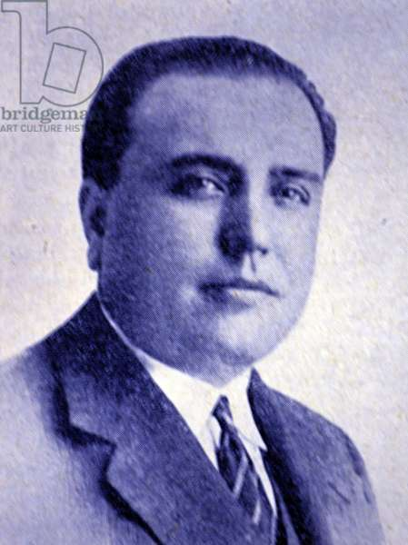 D. Eduardo Aunos, minister of Labour, Spain