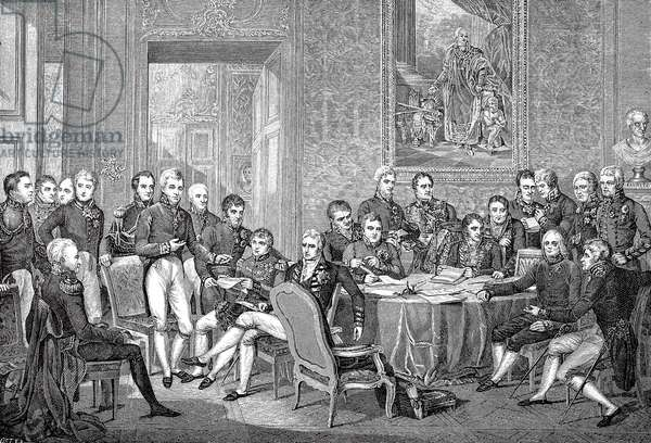 The Congress of Vienna 1815