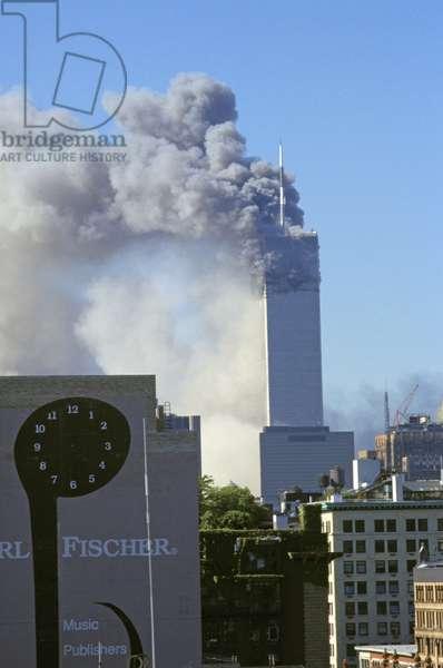 New York City, 9/11/01. World Trade Center Attack.