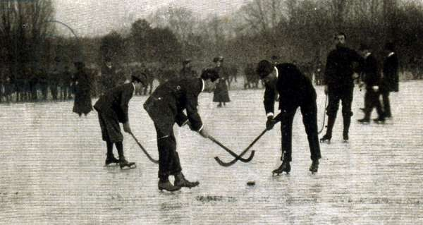Ice hockey match in Germany