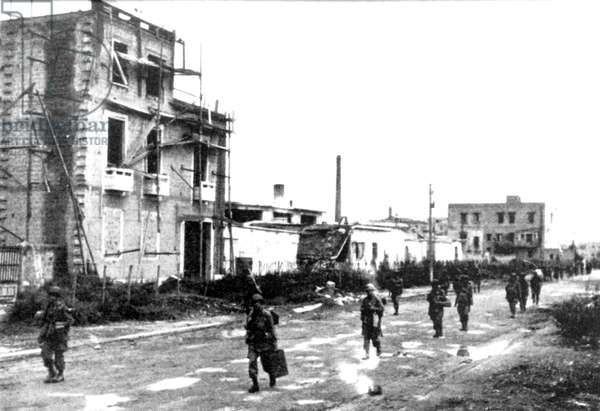 Second World War-1943 Allied invasion of Italy