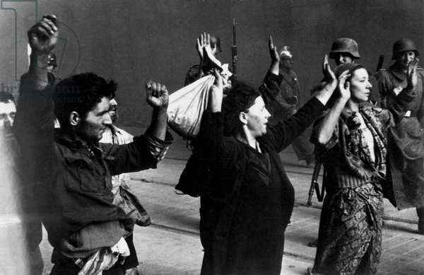 World war two: As the Warsaw Ghetto was destroyed