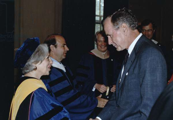 Maxine Singer and George H W Bush