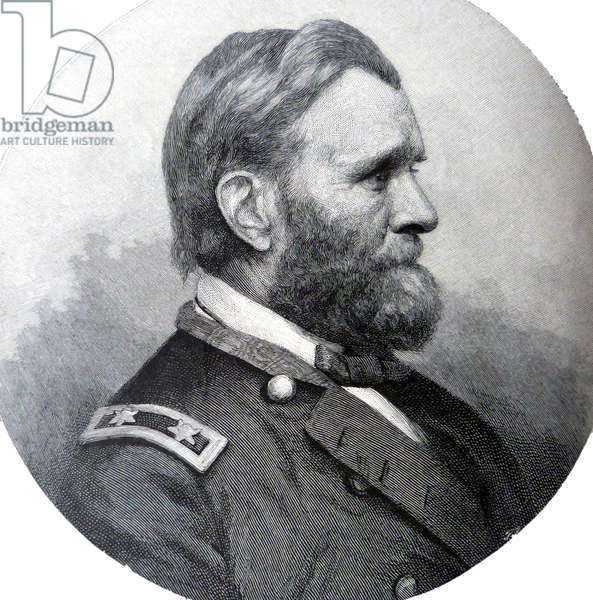 American Civil War General Ulysses Simpson Grant