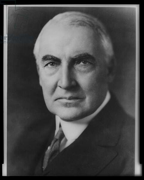 Portrait of President Warren Harding, 1921