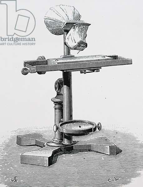 Alexander Graham Bell's Dead Ear Phonautograph, 1850