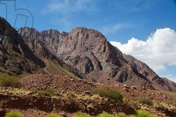 Chorrillos Range of the andes Mountains, Mendoza, Argentina (photo)
