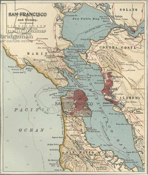 Map of San Francisco Bay