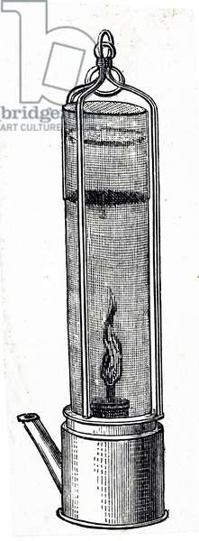 Davy's safety lamp