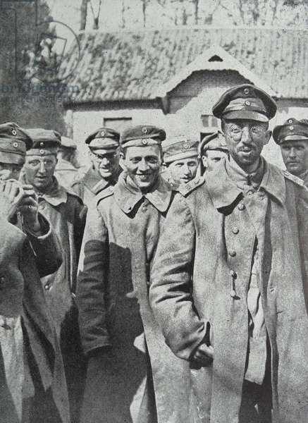 German prisoners of war, 1918