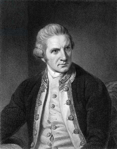 Captain James Cook (b/w photo)
