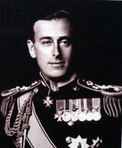 Admiral of the Fleet Louis Mountbatten, 1st Earl Mountbatten of Burma