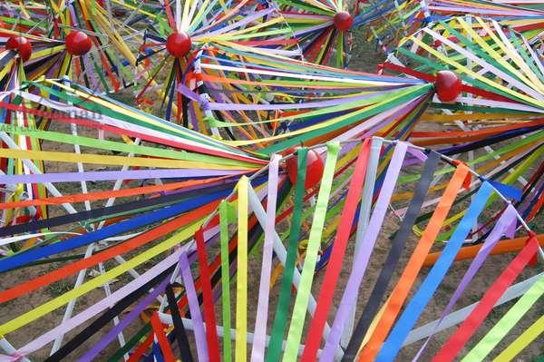 Preparation for 'Pohela Baisakh'- Bangla New year day 1412 at Charukola Art Institute. Dhaka, Bangladesh. 13/04/05 .  (photo)