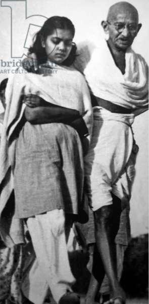 Hunger strike by Mohandas Karamchand Gandhi, India
