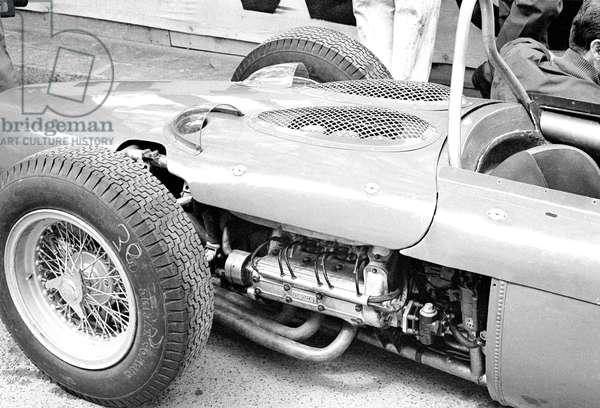 The rear of Von Trips Ferrari 156, 1961 (photo)