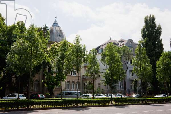 Andrassy Avenue, Budapest, Hungary (photo)