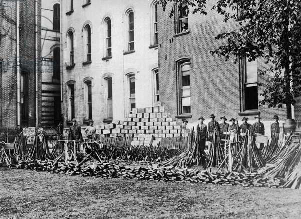 1912 Coal MIner Strike, 1912 (b/w photo)