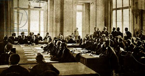German delegation to the Versailles Peace conference