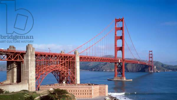 The Golden Gate Bridge and 'The Bay