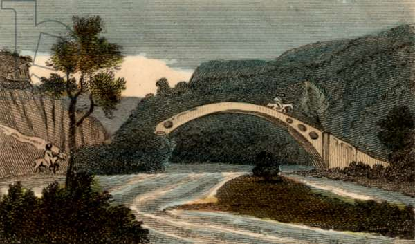 Bridge over River Taff at Pontypridd
