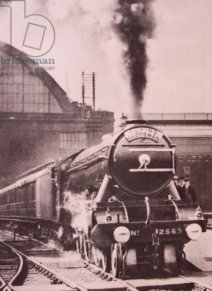 steam locomotive Flying Scotsman built in 1923