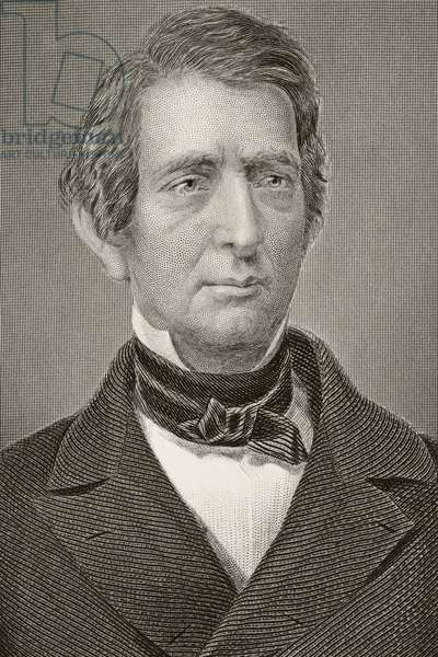 William Henry Seward 1801-1872. American politician who negotiated Alaska Purchase. From the book Gallery of Historical Portraits published c.1880. ©UIG/Leemage