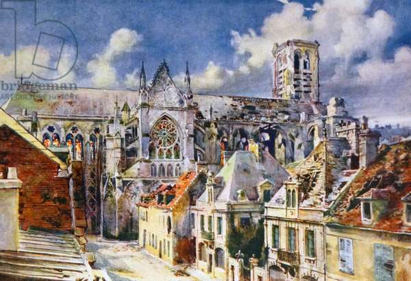 Painting of Soissons
