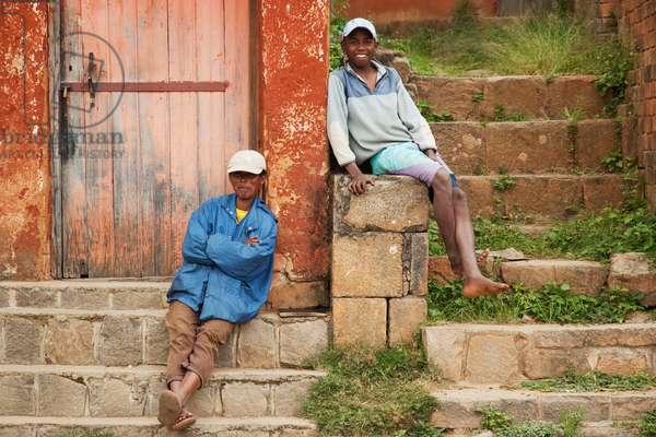 Men in Ambohimanga, Antananarivo Province, Madagascar (photo)