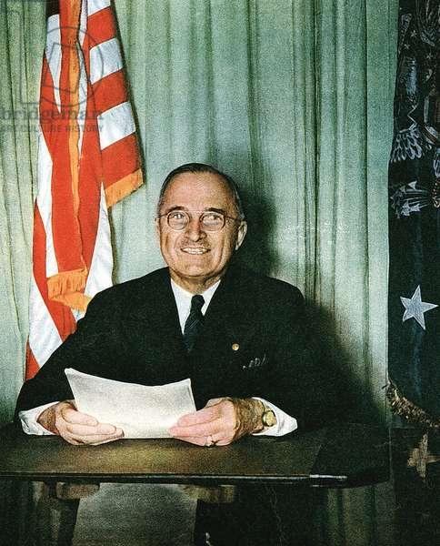 Harry S Truman (1884-1972) 33rd President of USA