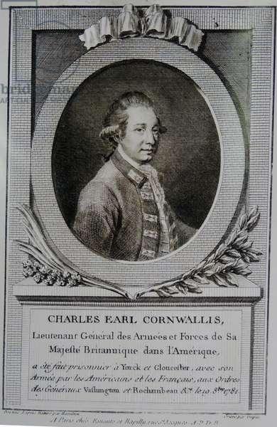 Charles Cornwallis, 1st Marquess Cornwallis KG (1738 – 1805)