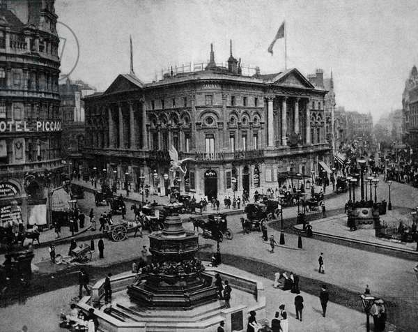 Piccadilly Circus, London, c.1884 (autotype)