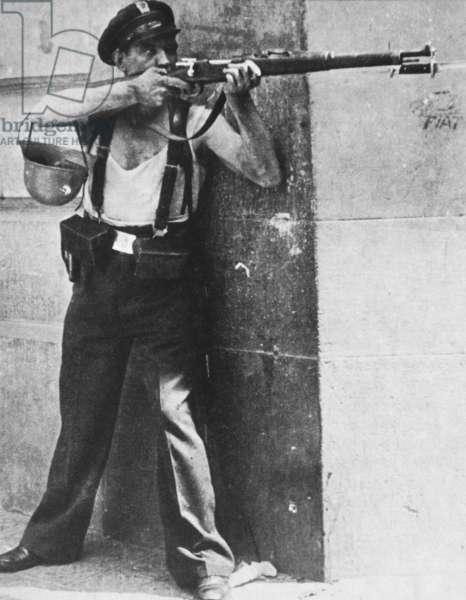 Spanish Civil War reaches Barcelona