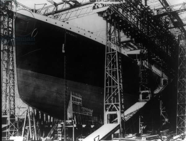 Construction of Titanic, 1911