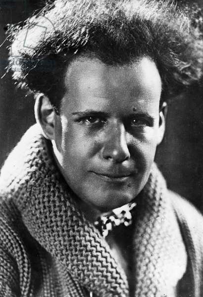 Sergei Eisenstein, Famous Russian Film Director, 1926.