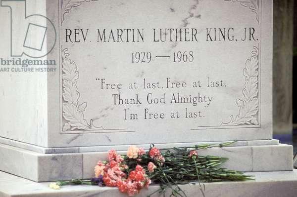 Georgia,  Atlanta.     Tomb Of Martin Luther King