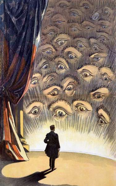 All eyes are on you, Mr President', 1913