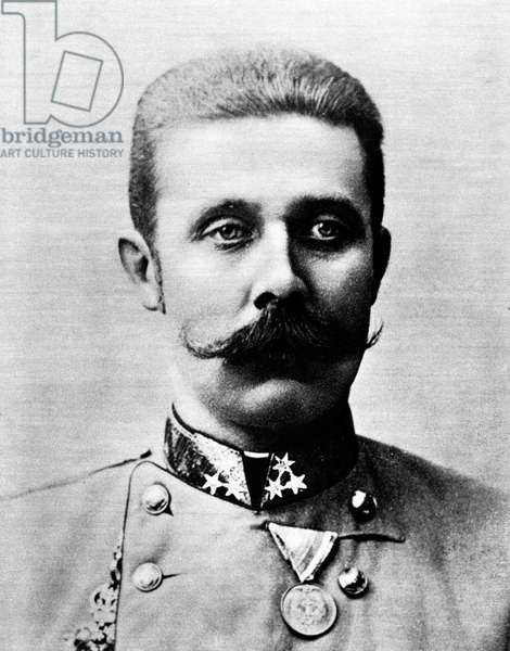 Franz Ferdinand (18 December 1863-28 June 1914) was an Archduke of Austria-Este, Austro-Hungarian and Royal Prince of Hungary and of Bohemia, and from 1889 until his death, heir presumptive to the Austro-Hungarian throne. His assassination in Sarajevo precipitated Austria-Hungary's declaration of war against Serbia