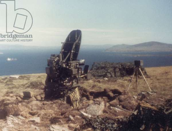 Machinery on the Falkland Islands, 1982 (photo)