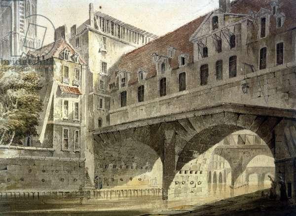 The Bridge of the Hotel Dieu, Paris