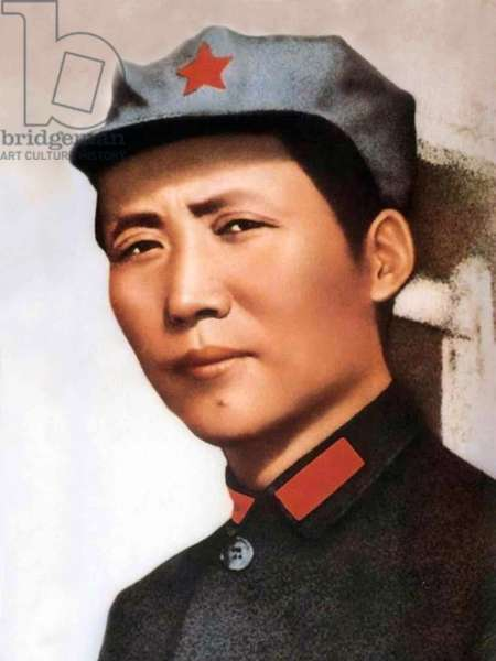Mao Zedong, referred to as Chairman Mao (December 26, 1893 - September 9, 1976)