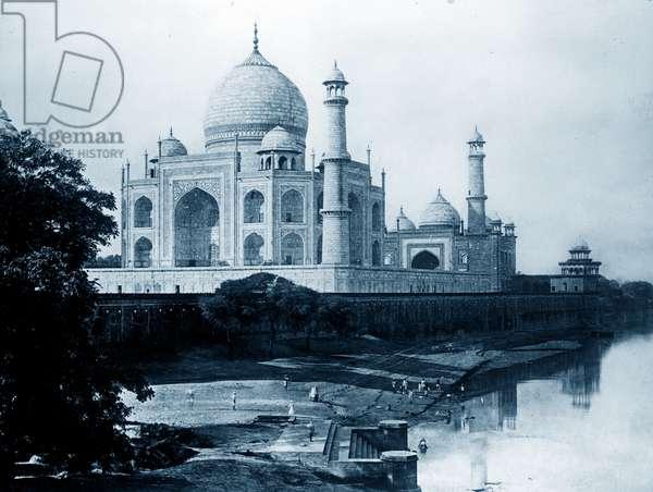 The Taj Mahal.
