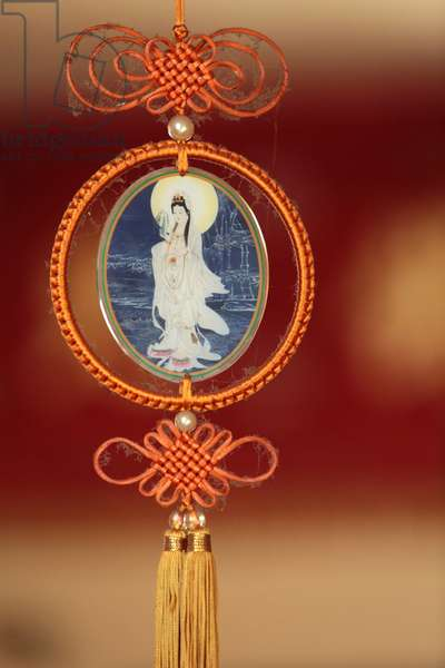 Quan Am Bodhisattva of compassion, Tu An Buddhist temple (photo)