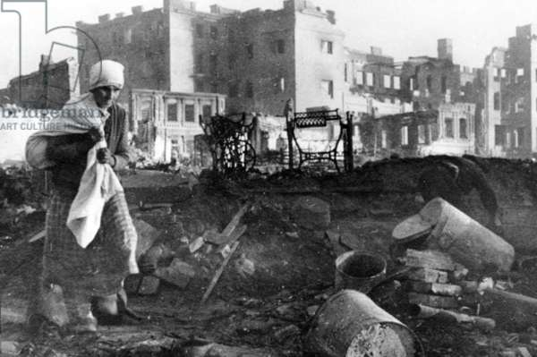 Stalingrad/Devastation During World War Two.