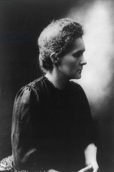 Marie Sklodowska Curie, 1912