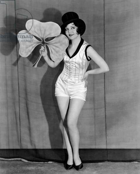 St. Patrick's Day, Hollywood, California, 1929 (b/w photo)
