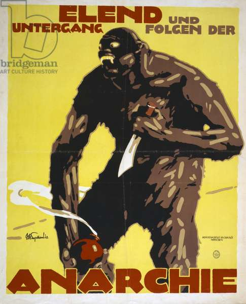 German World War I poster