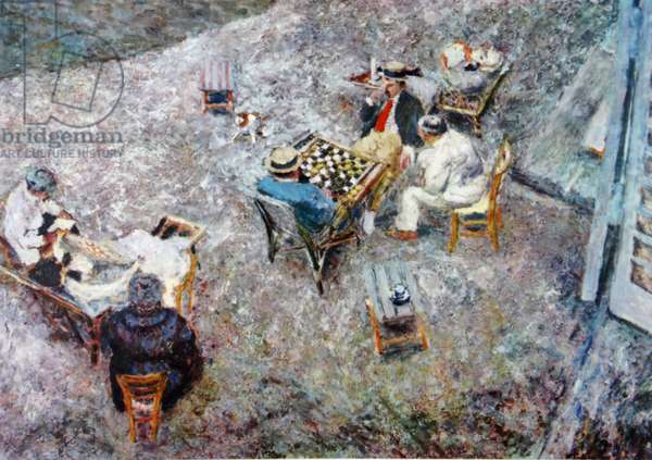 Draughts 1906 (oil on canvas)