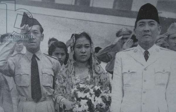 President Sukarno, first President of Indonesia