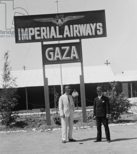 Imperial Airways Terminal - Gaza (photo)